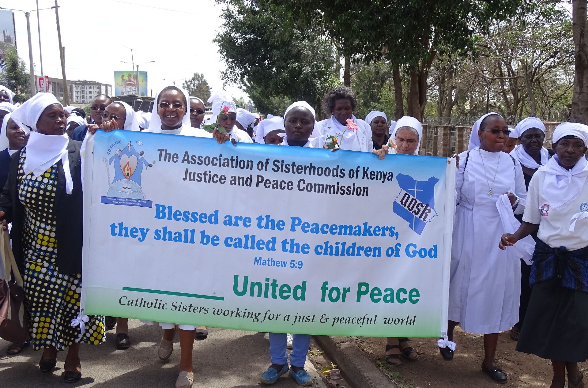 Catholic Sisters working for a just and Peaceful World