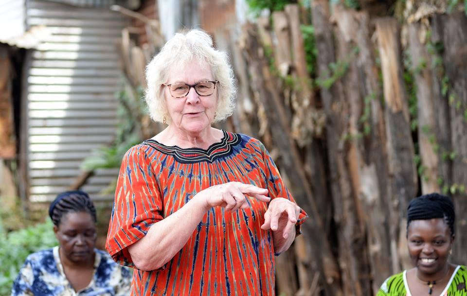 Dr. Jeffries during her visit to Kenya