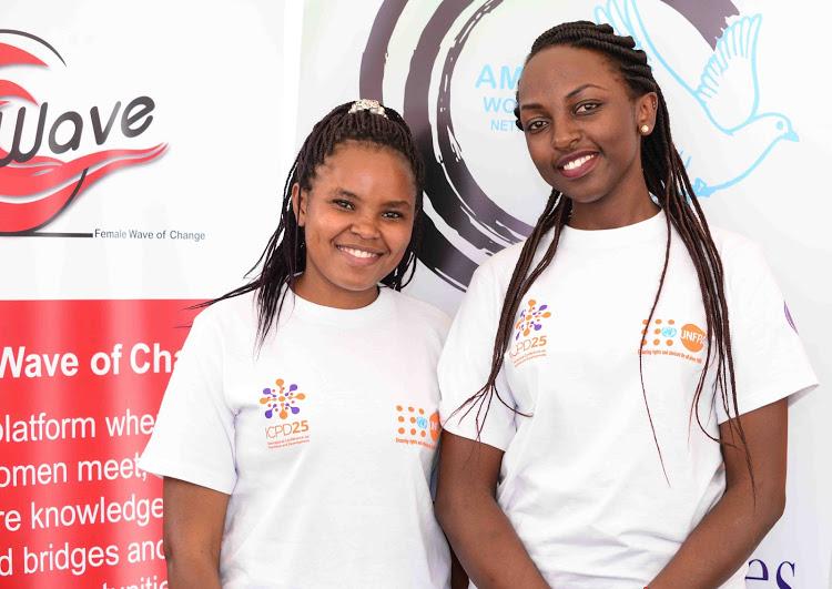 Lilian Mwikali and Lindah Gatwiri